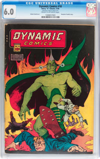Dynamic Comics #18 (Chesler, 1946) CGC FN 6.0 Cream to off-white pages