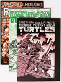 Modern Age (1980-Present):Superhero, Teenage Mutant Ninja Turtles Signed Copies Group (Mirage Studios,1980s-'90s).... (Total: 5 Comic Books)