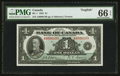 Canadian Currency: , BC-1 $1 1935 Charlton Plate Note. ...