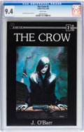 Modern Age (1980-Present):Alternative/Underground, The Crow #2 (Caliber Press, 1989) CGC NM 9.4 White pages....
