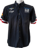 Miscellaneous Collectibles:General, 1990's Tony Stewart Racing Team Signed Shirt. ...