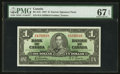 Canadian Currency: , BC-21b $1 1937 Narrow Signature Panel. ...