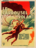 "Movie Posters:Drama, Flying Devils (RKO, 1934). French Grande (47"" X 63"").. ..."