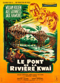 "Movie Posters:War, The Bridge on the River Kwai (Columbia, 1958). French Grande (45.5""X 62"") Style A.. ..."