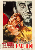 "Movie Posters:Film Noir, They Live by Night (RKO, 1949). Italian 2 - Foglio (39"" X 55"")....."