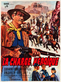 "Movie Posters:Western, She Wore a Yellow Ribbon (Rank, R-1963). French Grande (47"" X63"").. ..."