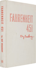 Books:Science Fiction & Fantasy, Ray Bradbury. Fahrenheit 451. New York: Ballantine Books, 1953. First edition, number 102 of 200 copies signed...