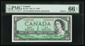 Canadian Currency: , BC-37b $1 1954 Solid Five Serial Number . ...