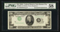 Error Notes:Inverted Third Printings, Fr. 2060-J $20 1950A Federal Reserve Note. PMG Choice About Unc58.. ...