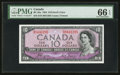 Canadian Currency: , BC-32a $10 1954 Devil's Face . ...