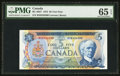 Canadian Currency: , BC-48bT $5 1972 Test Note. ...