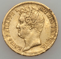 France: Louis Philippe I gold 20 Francs 1831-A