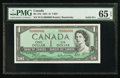 Canadian Currency: , BC-37b $1 1954 Solid Six Serial Number. ...