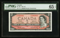 Canadian Currency: , BC-38b $2 1954 Fancy Serial Number. ...