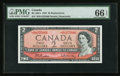 Canadian Currency: , BC-38bA $2 1954 Replacement Note *R/R Prefix. ...
