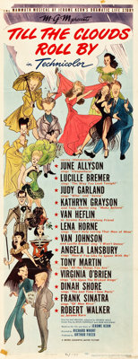 "Till the Clouds Roll By (MGM, 1946). Insert (14"" X 36"")"
