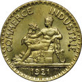 France: Republic 2 Francs 1921