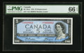 Canadian Currency: , BC-39aA $5 1954 Replacement Note with *A/C Prefix. ...
