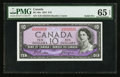 Canadian Currency: , BC-40a $10 1954 Solid Five Serial Number. ...