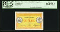World Currency: , Dahomey Gouvernment General 1 Franc 11.2.1917 Pick 2a. ...