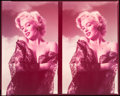 "Movie Posters:Miscellaneous, Marilyn Monroe (20th Century Fox, Early 1950s). Double Pinup ColorTransparency (8"" X 10"").. ..."