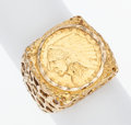 Estate Jewelry:Rings, Gentleman's Coin, Gold Ring. ...
