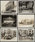 """Movie Posters:Miscellaneous, Frankenstein and Dracula Theater Front Photo Lot (Circa, 1938 &1941). Photos (10) (8"""" X 10"""").. ... (Total: 10 Items)"""