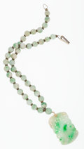 Estate Jewelry:Necklaces, Jadeite Jade, Necklace. ...