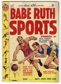 Golden Age (1938-1955):Non-Fiction, Babe Ruth Sports Comics #1 (Harvey, 1949) Condition: VG....