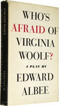 Books:Fiction, Edward Albee: Signed Who's Afraid of Virginia Woolf?...