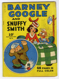 Golden Age (1938-1955):Humor, Four Color (Series One) #19 Barney Google and Snuffy Smith (Dell, 1941) Condition: GD/VG....
