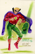 Original Comic Art:Sketches, Marty Nodell - Green Lantern Sketch Original Art (2001)....