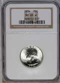 Washington Quarters: , 1934 25C Medium Motto MS65 NGC. NGC Census: (388/274). PCGSPopulation (490/313). Mintage: 31,912,052. Numismedia Wsl. Pric...