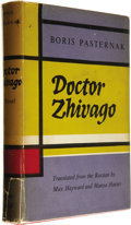 Books:Fiction, Boris Pasternak: First Edition of Doctor Zhivago (London:Collins and Harvill Press, 1958), first edition, 510 pages, re...(Total: 1 Item)