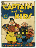 Golden Age (1938-1955):Miscellaneous, Single Series #1 The Captain and the Kids (United Features Syndicate, 1938) Condition: GD+....