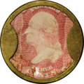 Encased Postage: , HB-18 EP-33 Scott-9 Reed-AP03 3¢ Take Ayer's Pills About New....
