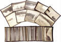 Photography:Stereo Cards, 44 ORIGINAL SEPIA PHOTOGRAPHS OF YELLOWSTONE PARK. 19th Century images by an unknown photographer, documenting various geyse... (Total: 1 Item)