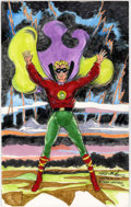 Original Comic Art:Sketches, Martin Nodell - Green Lantern Sketch Original Art (1995)....