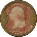 "Encased Postage: , 3¢ Lord & Taylor ""Romain"" Counterfeit...."