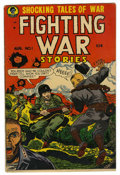 Golden Age (1938-1955):War, Fighting War Stories #1 (Men's Publications, 1952) Condition:VG+....