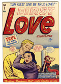 Golden Age (1938-1955):Romance, First Love Illustrated #1 (Harvey, 1949) Condition: VF....