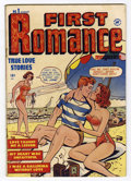 Golden Age (1938-1955):Romance, First Romance #1 (Harvey, 1949) Condition: VG+....