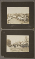Photography:Official Photos, TWO AMAZING WALTON VIEWS OF ROSWELL DURING THE 1904 PECOS FLOOD. New Mexico photographer William R. Walton happened to be on... (Total: 1 Item)