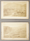 Photography:Stereo Cards, LOT OF TWO VIRGINIA CITY, NEVADA BIRD'S-EYE VIEWS 1880's. Virginia City, Nevada is one of the oldest established cities in ... (Total: 1 Item)