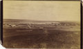 Photography:Official Photos, WONDERFUL BARRY BIRDS-EYE VIEW OF FORT YATES AND STANDING ROCK AGENCY, ca 1886. Another outstanding D.F. Barry image, this o... (Total: 1 Item)