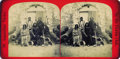 Photography:Stereo Cards, STEREOVIEW OF IMPORTANT CHEYENNE WARRIORS AT FORT MARION, 1875 U.S. PRISONERS OF WAR. Of the 33 Cheyenne prisoners of war he... (Total: 1 Item)