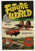 Golden Age (1938-1955):Science Fiction, Future World Comics #1 Windy City pedigree (George W. Dougherty,1946) Condition: VF+....