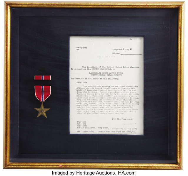 Henry Fonda's Bronze Star  During the early years of World