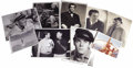 Movie/TV Memorabilia:Photos, Henry Fonda Family Photos. This lot of nine photos from the Fondafamily covers Henry Fonda at work and play, from his earli...(Total: 1 Item)