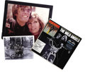 "Movie/TV Memorabilia:Autographs and Signed Items, Peter Fonda Signed ""Wild Angels"" Soundtrack LP with Memorabilia. In1966, three years prior to the release of Easy Rider,... (Total:1 Item)"